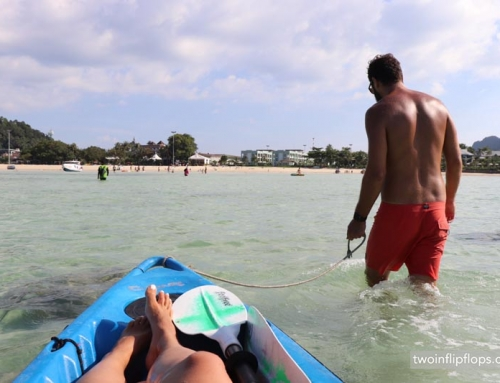Kayaking to Monkey Beach and Nui Bay