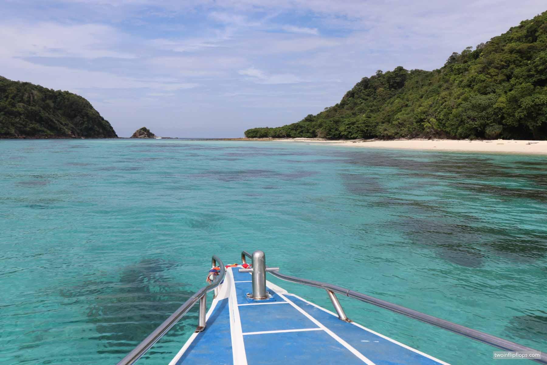 Thailand Koh Rok & Koh Ha boat