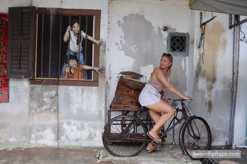 Penang – the place for street art & street food