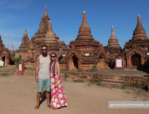 Getting from Mandalay to Bagan