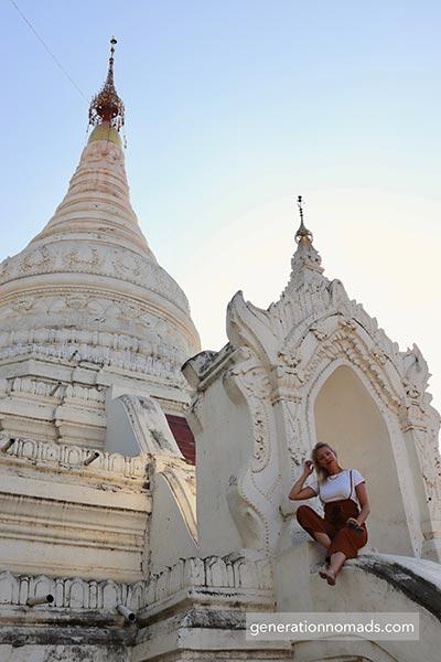 Mandalay Kuthodaw Pagoda Myanmar