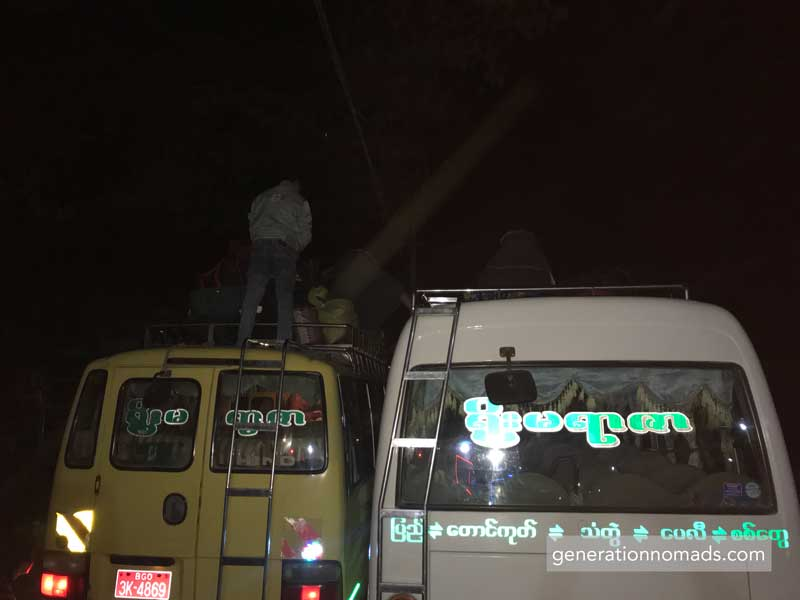 Bagan-Ngapali Bus Breakdown