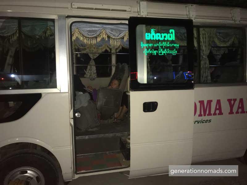 Bagan-Ngapali Night Bus