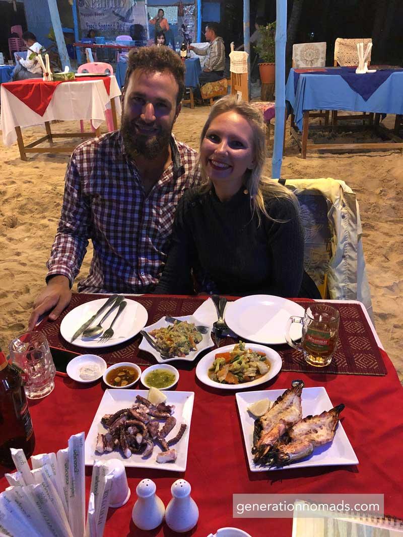 Ngapali Beach Myanmar Restaurant