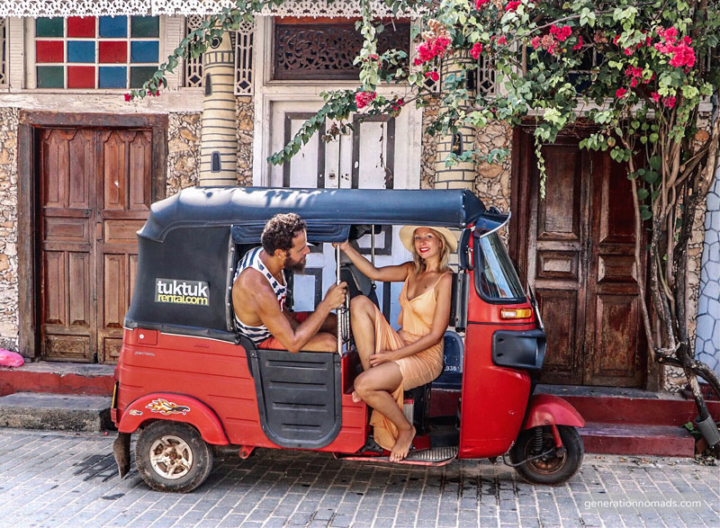 Getting your Tuktuk in Sri Lanka with Tuktuk Rental