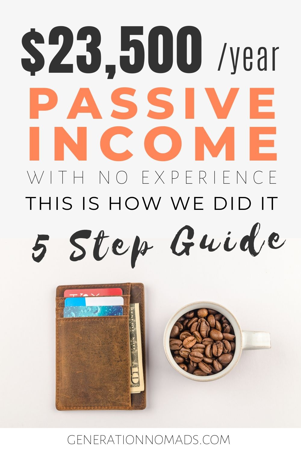 Do you wonder if financial freedom is really possible? We tell you how we generated over $23,500 in passive income in 1 year while traveling - with no prior experience (without a profitable blog). We share with you the passive income strategies we used to create extra income ideas in a beginner proof way. This strategy will help you to learn how rich people think and create additional income from home or make passive income online.