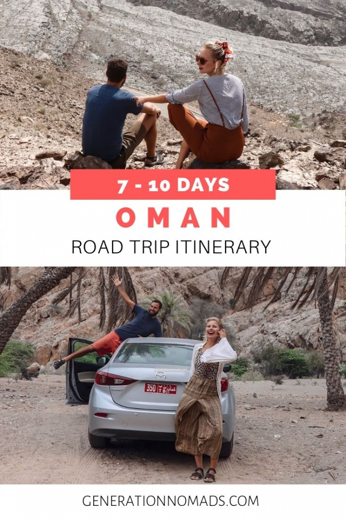 Oman Itinerary 7 Days Road Trip Generation Nomads