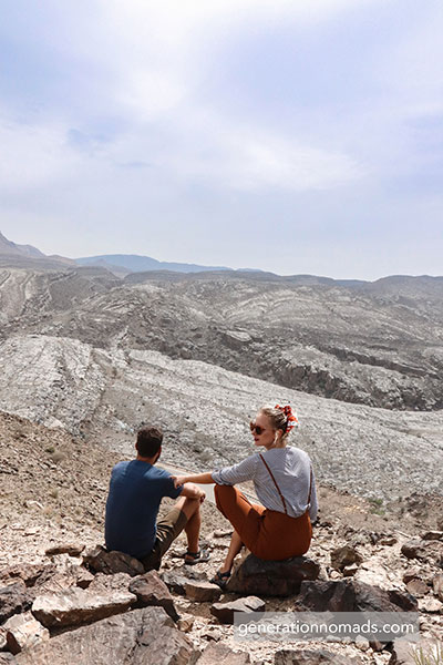 Oman Jebel Shams Mountains