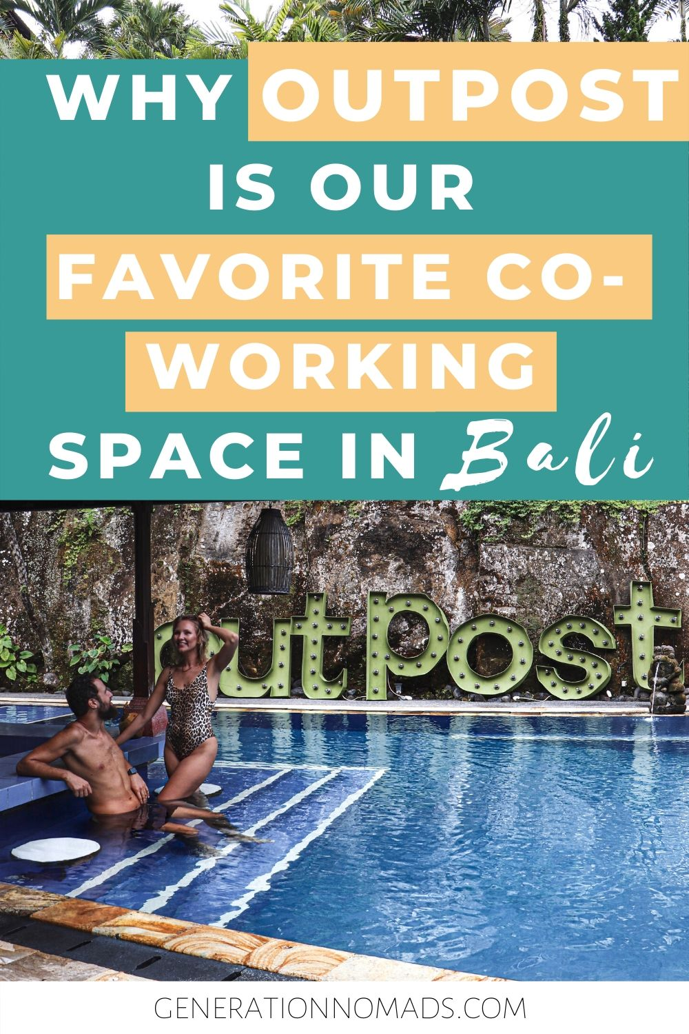 Are you looking for the best coworking space in Bali? Look no further! We visited all coworking offices in Canggu & Ubud and have found our favorite on: Outpost. Read here why we think Outpost is the best remote workspace for digital nomads, remote workers, freelancers, and online entrepreneurs in the best destination for digital nomads - Bali. Our detailed review of the work space, pool, facilities. If it's the right space for you, we have a discount code for you.