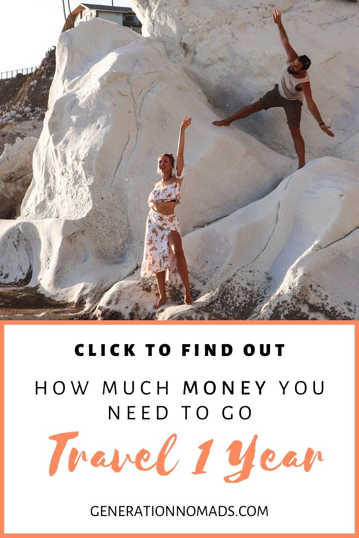 Ever wondered how much it costs to travel for 1 year? Planning your long term travel budget can be overwhelming. Where do you even begin? Here are 5 steps to plan your trip budget to sustain your long-term travel. Budget your trip costs and expenses with our easy 5 step guide. Plan your round the world trip and save money!