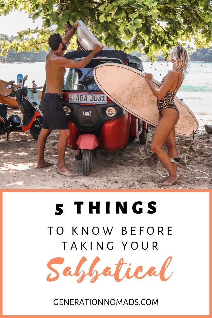 Do you want to take a break from your 9-5? Focus entirely on yourself, relax, and re-charge? A career break will help you to gain back energy and come back motivated and positive. Before taking a sabbatical, make sure you know what you are in for. Here are 5 Things you should consider before taking a gap year. Make sure to read this to prepare best for your time off!