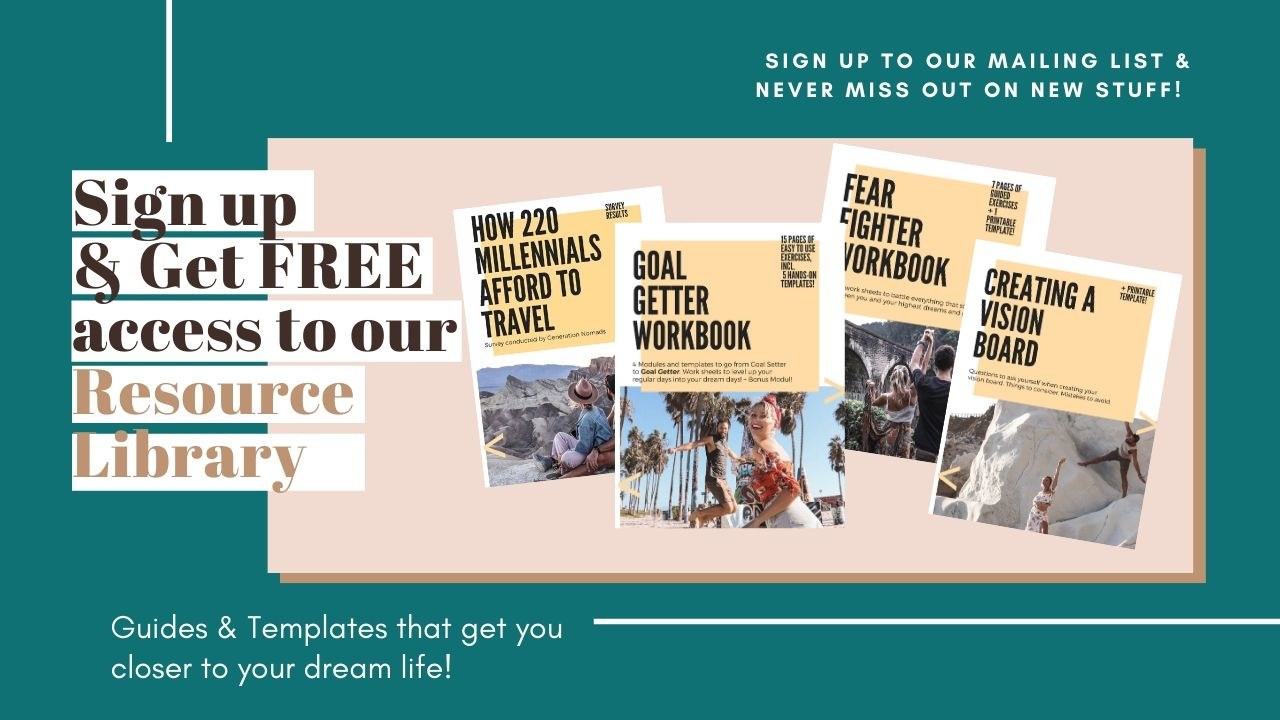 Free Guides and Templates that get you closer to your dream life_Generation Nomads