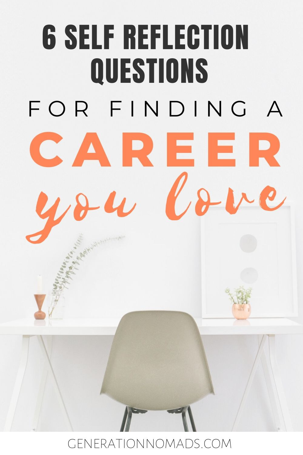 Do you dream of finding a career that you truly love? Your tired of working the 9-5 hustle and finally want to start following your passion? We have 6 self reflection questions that you should ask yourself if you're feeling stuck. Get inspiration to think about what is truly important to you and how you can change career and improve life for the better.