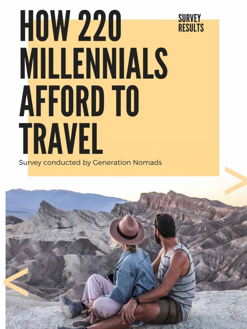 Survey-Results---How-Millennials-Afford-To-Travel_Generation-Nomads