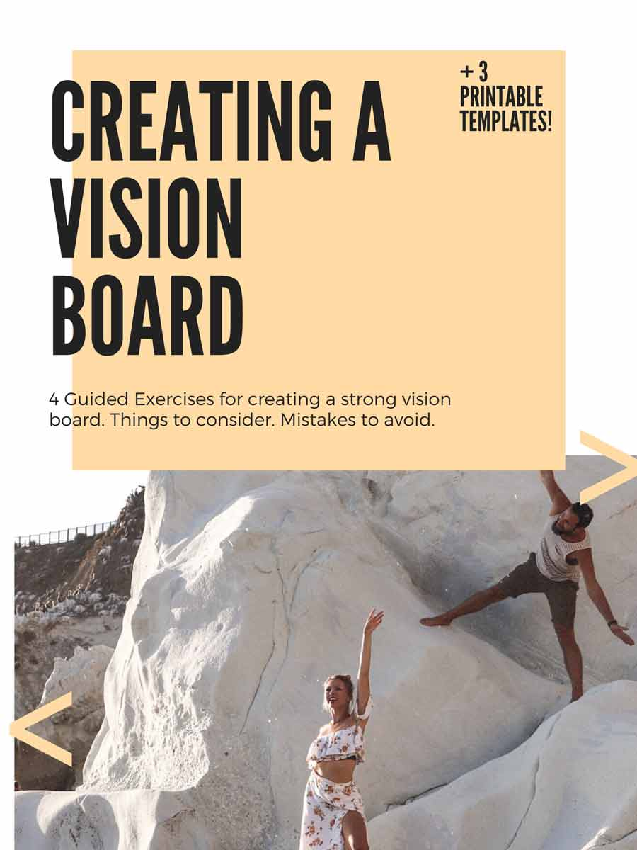 Vision Board Ideas Template