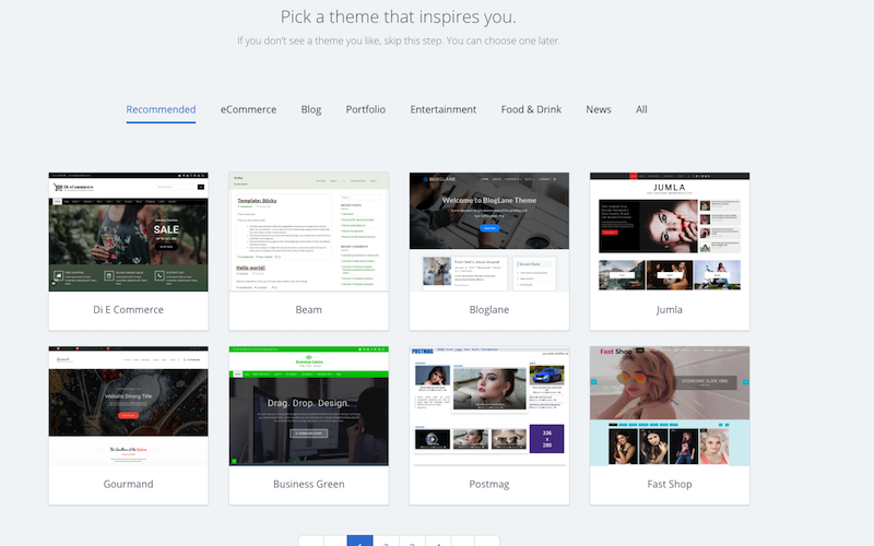 Installing a blog theme step by step guide