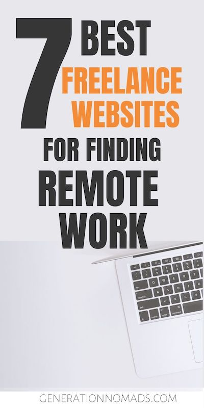 When starting to look for remote work, there are many freelancing websites you can choose. Whether you want to start freelance writing or become a freelance designer, you need to be on a few freelancing websites. There are hundreds of freelance sites out there and figuring out which ones are worthwhile creating a profile on can be time consuming. We have gathered the 7 best freelancing websites to get you started to find a remote job.
