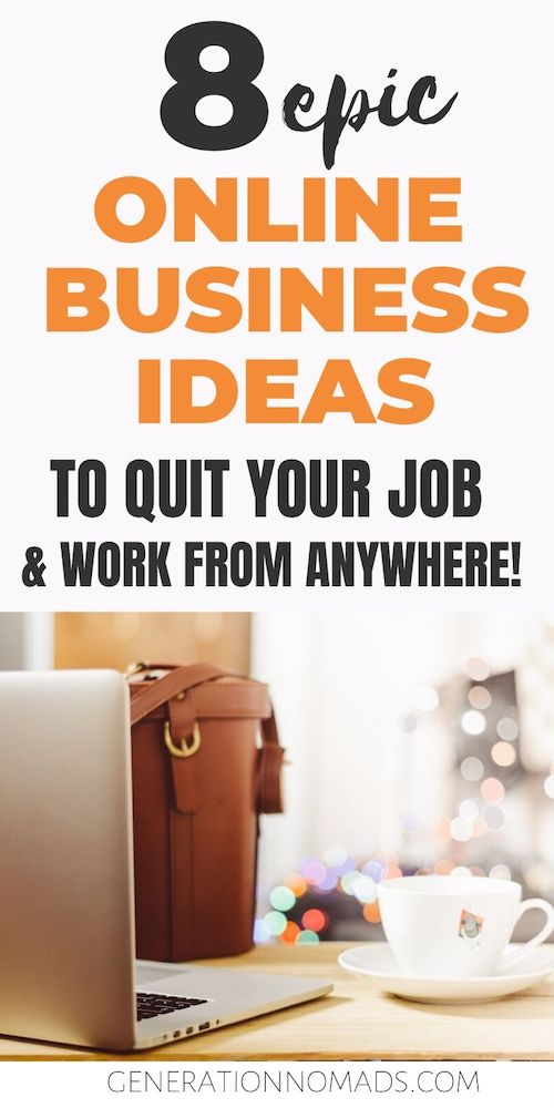 Do you dream to quit your 9-5 job and work on your own online business idea in 2020? Are you looking for the most profitable and trending business ideas to earn money online? After meeting countless online entrepreneurs in our worldtrip, here's a list of the 8 most popular online business ideas of digital nomads that let you to work remotely. We picked business ideas that make $100,000+ & cost under $50 to start up.