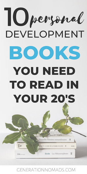 Is this going to be the year that you will be getting your life together? There is no better way to do self reflection and find your true self than with books. Here is a collection of 10 self improvement books I read in 2019 as part of the book challenge I took on this year. These are the best books ever for personal development for millennials. If leading a better life is one of your goals for 2020, add these 10 books. Topics include time management, personal finance, and building habits.