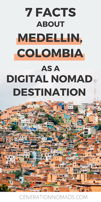 Do you think to make Medellin Colombia your next digital nomad destination? We spent over 1 month living and working remotely in Medellin, and our conclusions might surprise you! Before we went, we heard many positive and negative reviews about Medellin as a digital nomad hub, and we don't agree to many of them... Click to read 7 facts about Medellin to help you decide if it's the right place for you as a digital nomad.