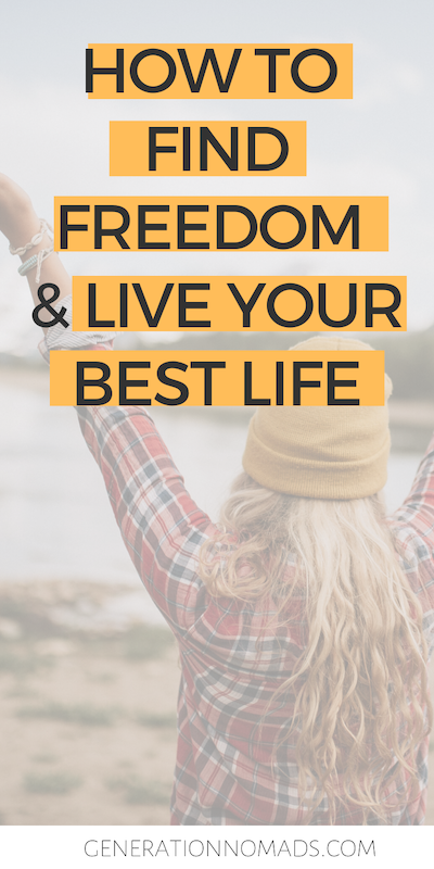 Life's too short to live on autopilot! We escaped our 9-5 to build the life of our dreams and travel, and so can you! Whether you want to quit your 9-5 to travel, pick a career you love, or start a business, your freedom life is totally possible if you take the right steps. We tell you the 4 steps we used to define our freedom lifestyle and how to get there. If you're ready to change your life for the better, read how you can live your best life!